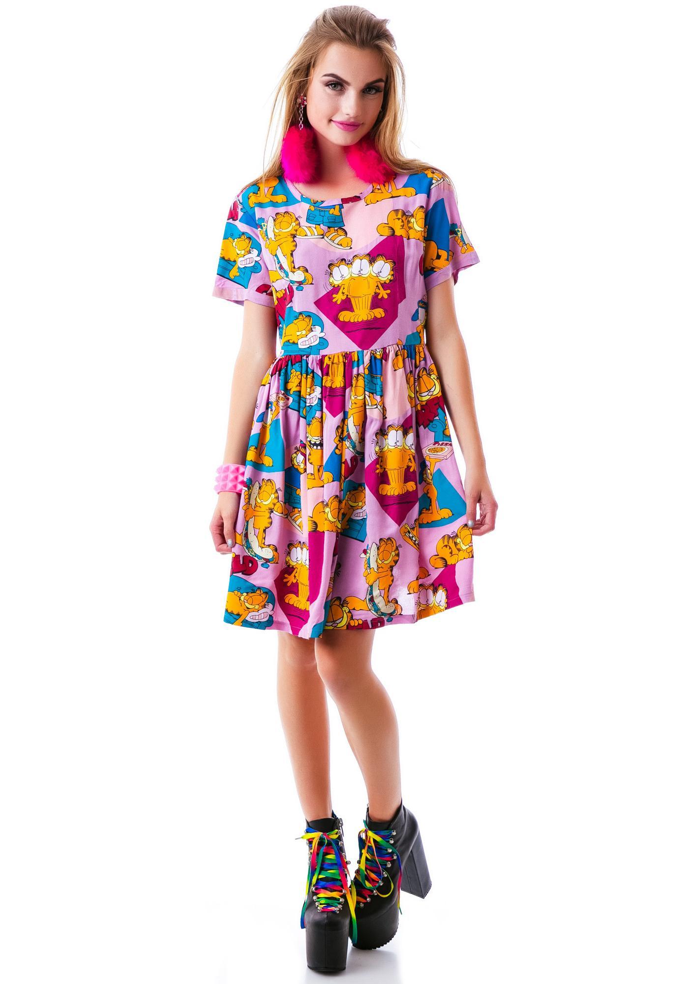 Lazy Oaf x Garfield Mega Field Dress