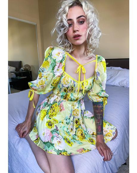 Leigh Floral Mini Dress