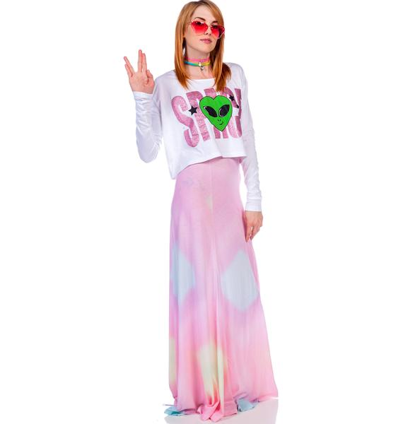 Wildfox Couture Rainbow Brite Verona Skirt
