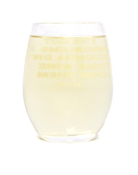 99 Problems Wine Glass