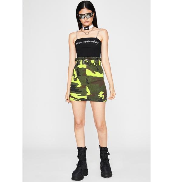 Chic Patrol Camo Skirt