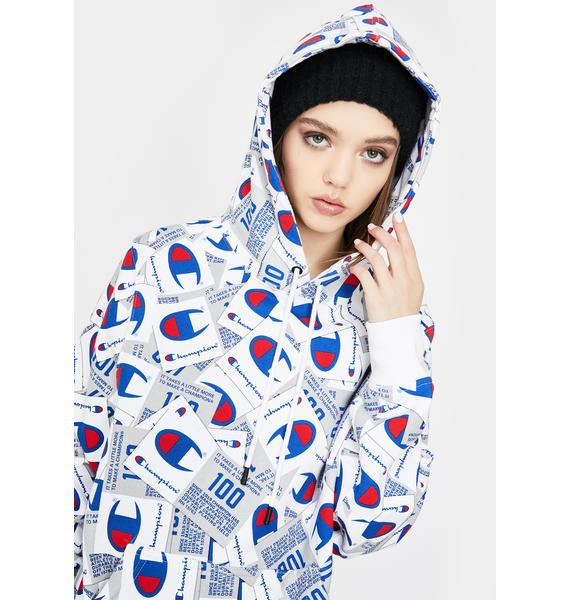 Champion Scatter Mix Super Fleece Hoodie