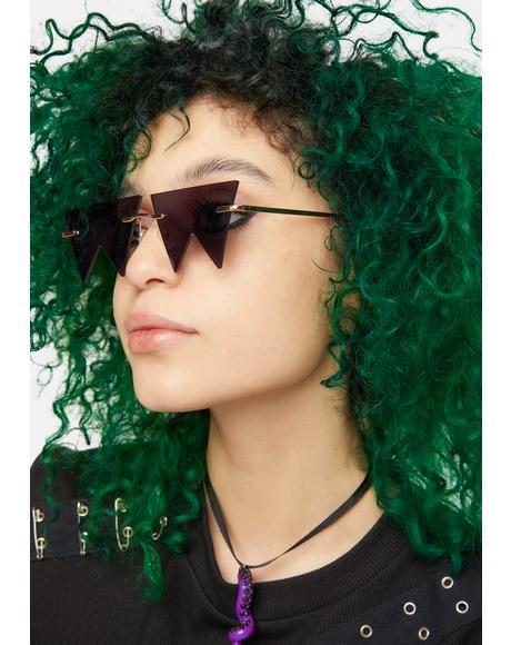Noir No Boundaries Geometric Sunglasses