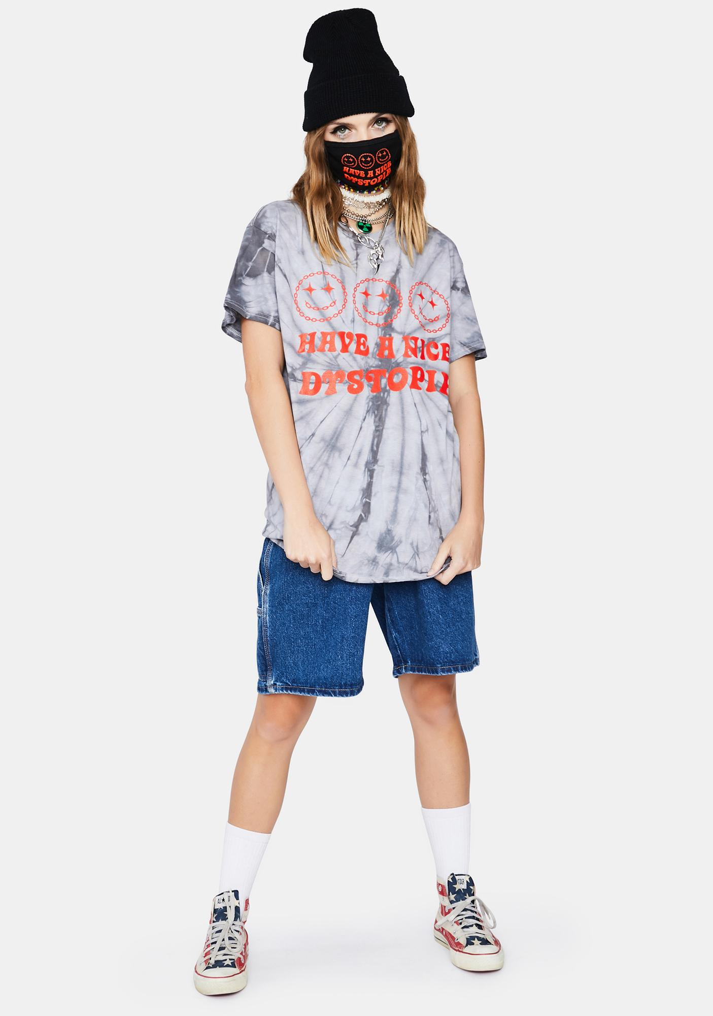 Boss Dog Have A Nice Tie Dye Graphic Tee