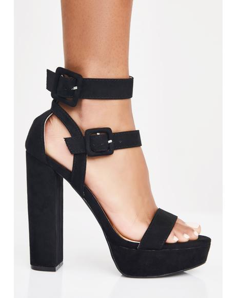 Double Vision Platform Heels