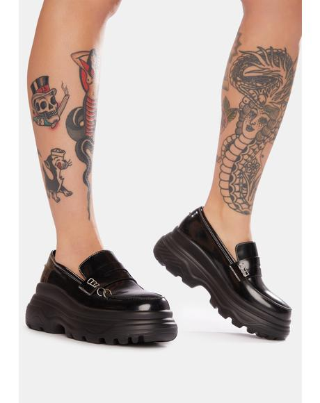 Lethe Pierced Platform Loafers