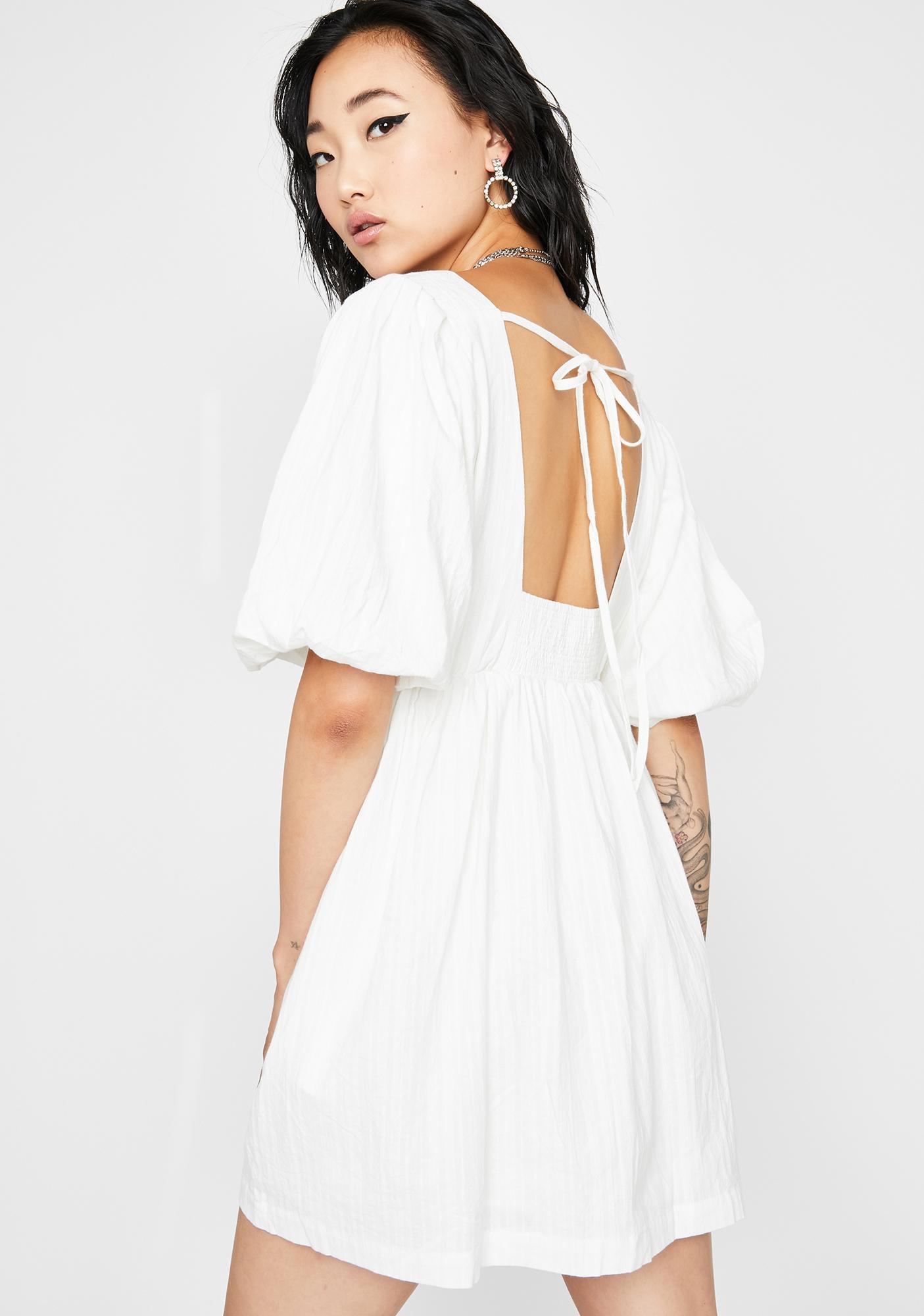 Pure Runaway Sweetheart Mini Dress
