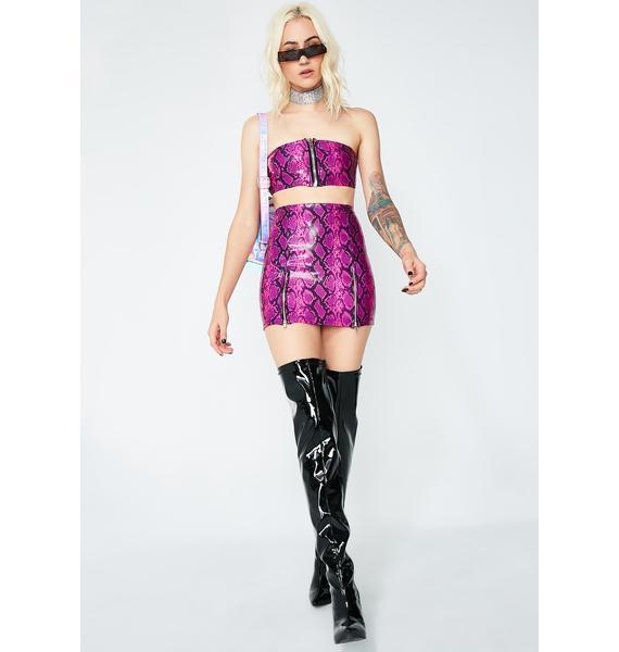 ESQAPE Synth Skirt Set