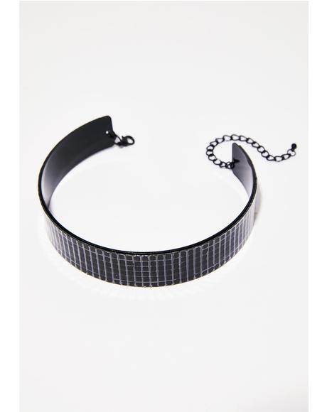 Dark Under The Ball Choker