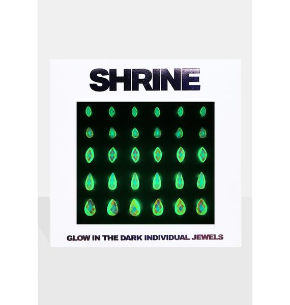 SHRINE Glow In The Dark Face Jewels
