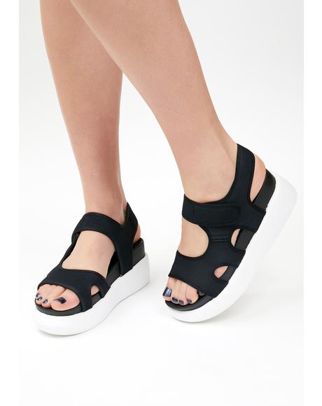 Here To Win Platform Sandals