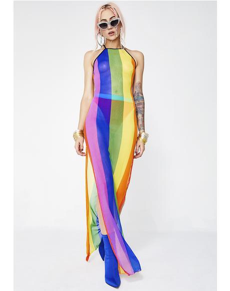Color Ur World Maxi Dress