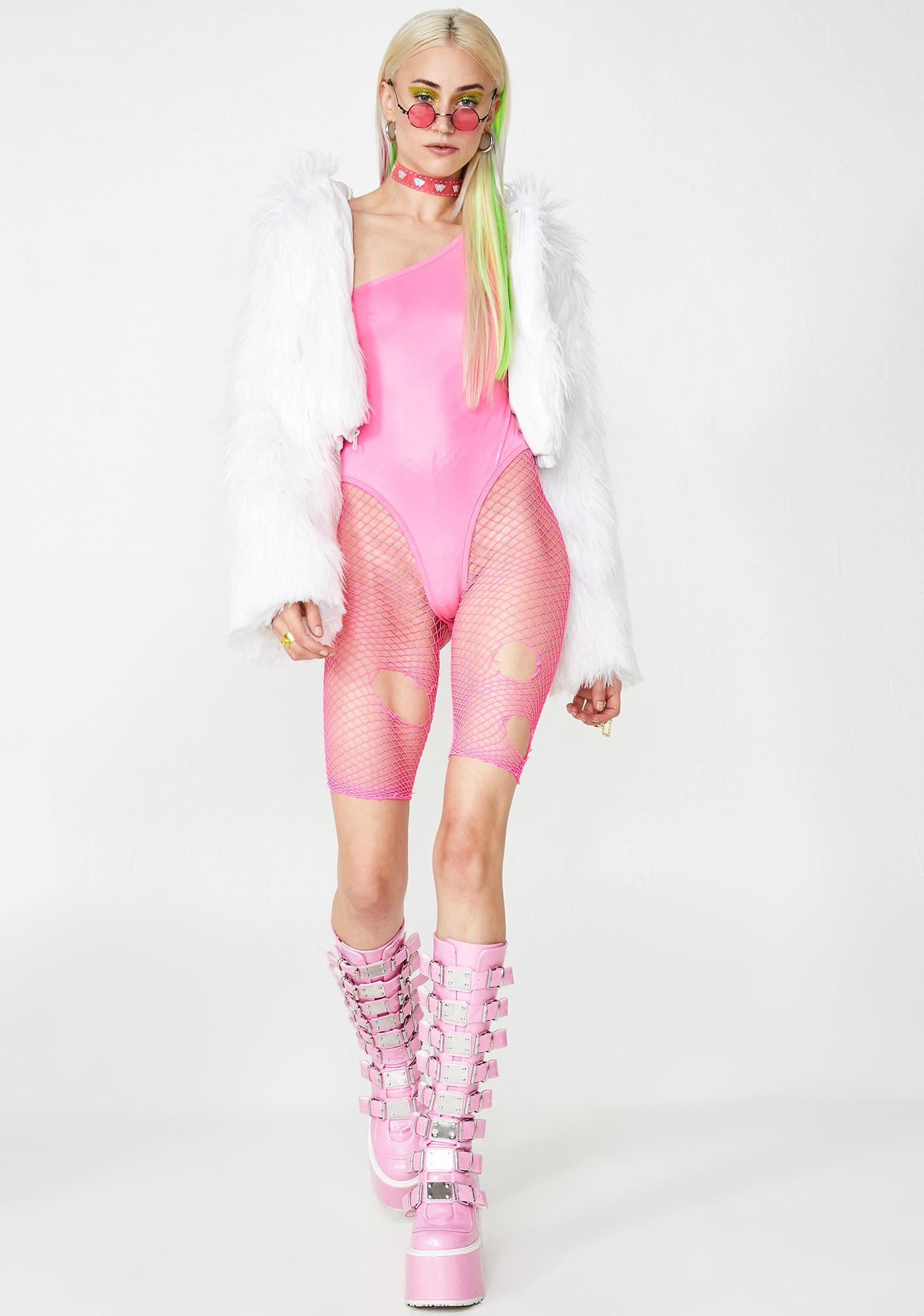 Astro Candy One Shoulder Bodysuit