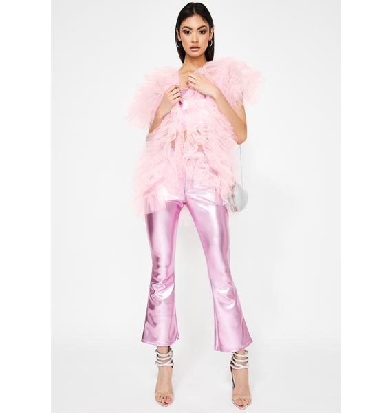 Kiki Riki Pink Make A Scene Tulle Vest