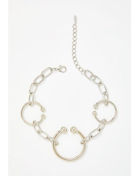 Piercing Lights Chain Choker