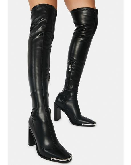 Spotlight Thigh High Boots