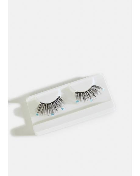 Blue Flutter Lashes