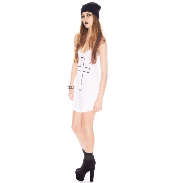 Wildfox Couture Cross My Heart Slip Dress