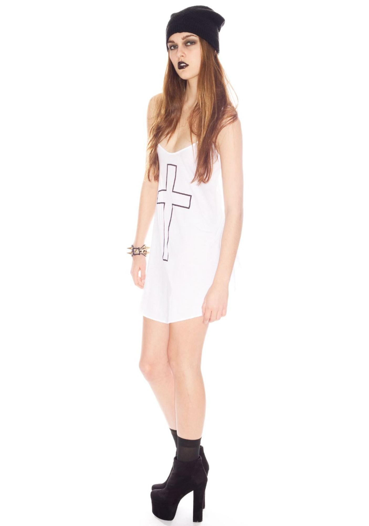 Wildfox Couture Cross My Heart Slip Dress