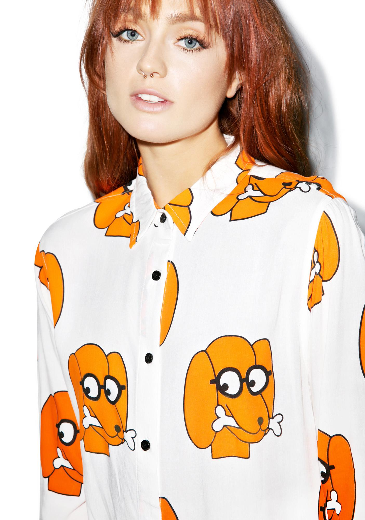 Lazy Oaf Dog And Bone Shirt