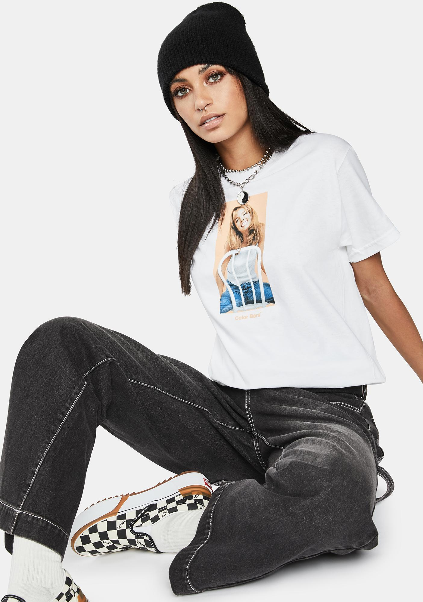 Color Bars X Britney Spears Chair Graphic Tee