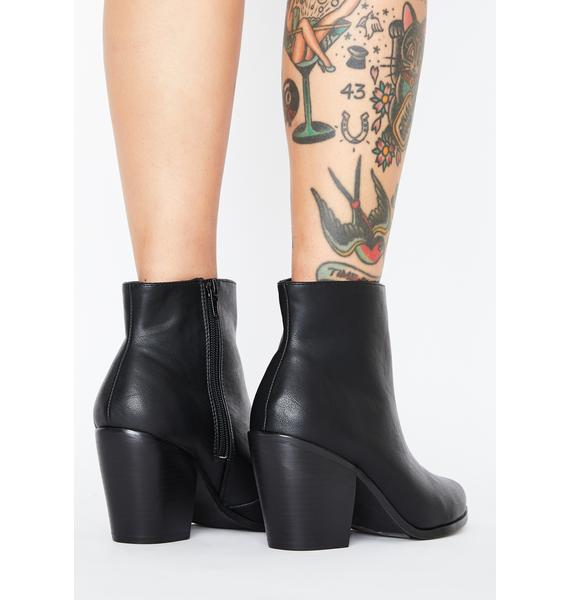 Hellbent Honey Ankle Boots