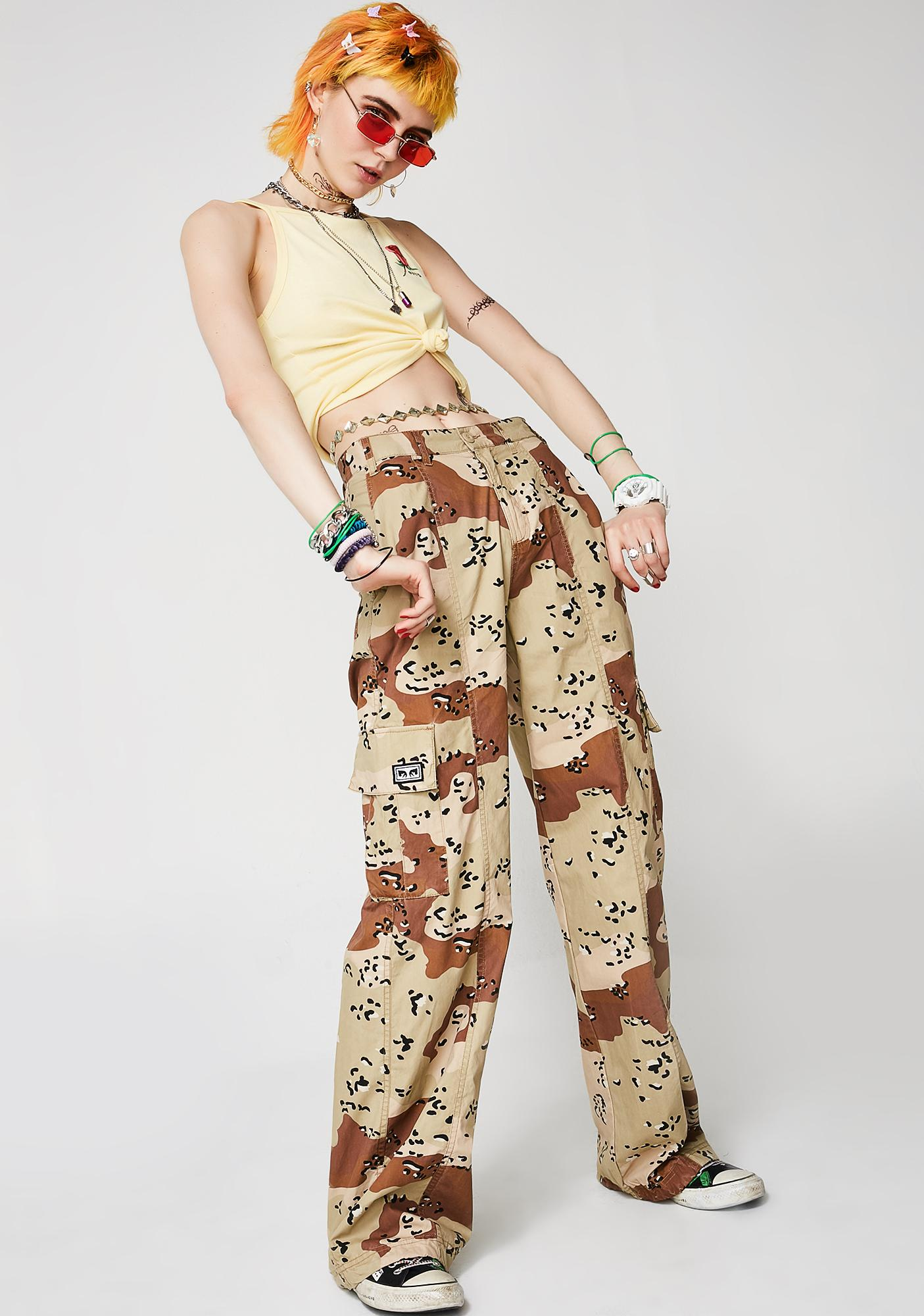 Obey Miller Wide Leg Pants