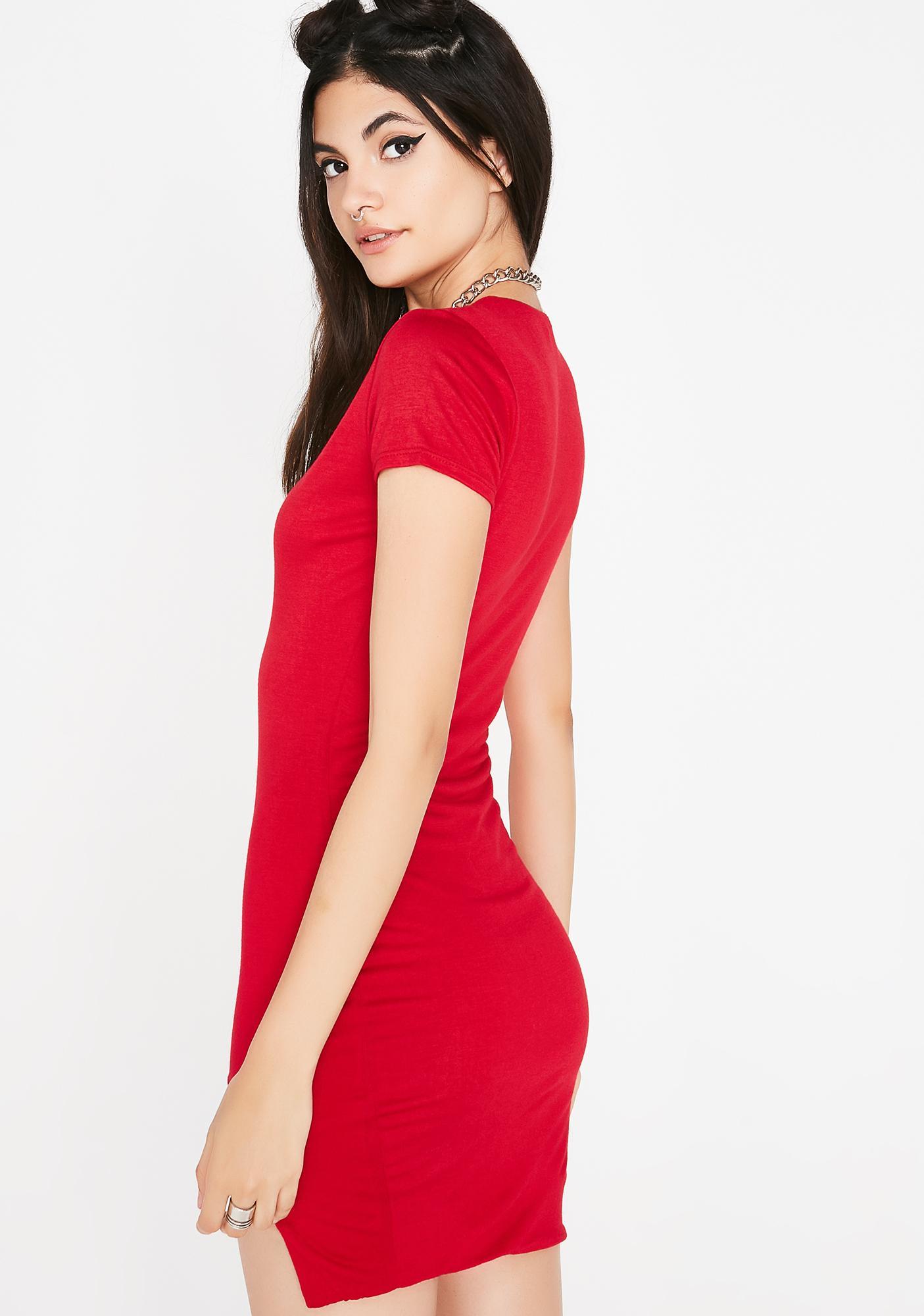 Spicy Arm Candy Mini Dress