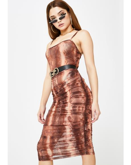 Toxic Resolution Midi Dress