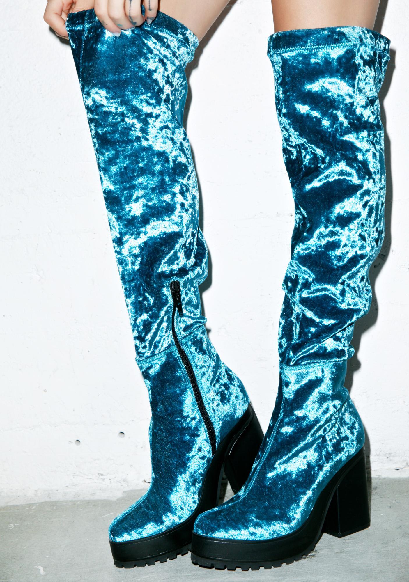 Zodiac Emi Velvet Boots