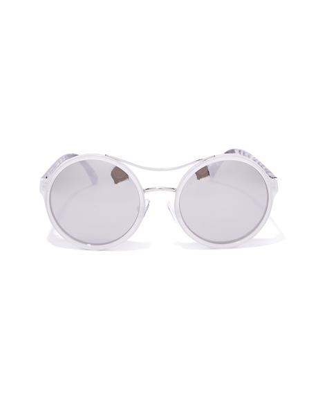 Wild Style Round Sunglasses