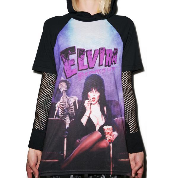 Kreepsville 666 Elvira Screen Snack Tee