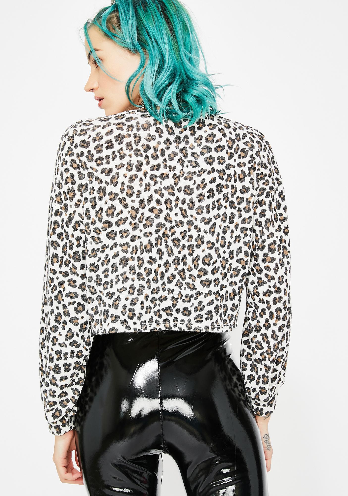 Release The Beast Leopard Sweater