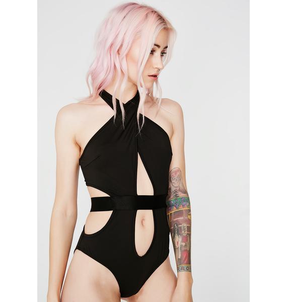 Showin' Off Cut Out Bodysuit