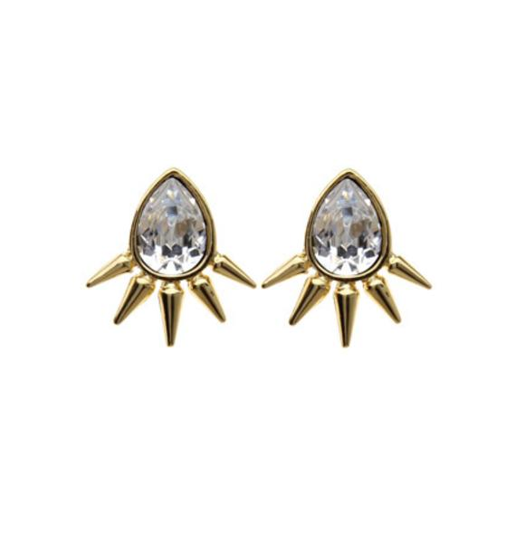 Anita K Royal Punk Earrings