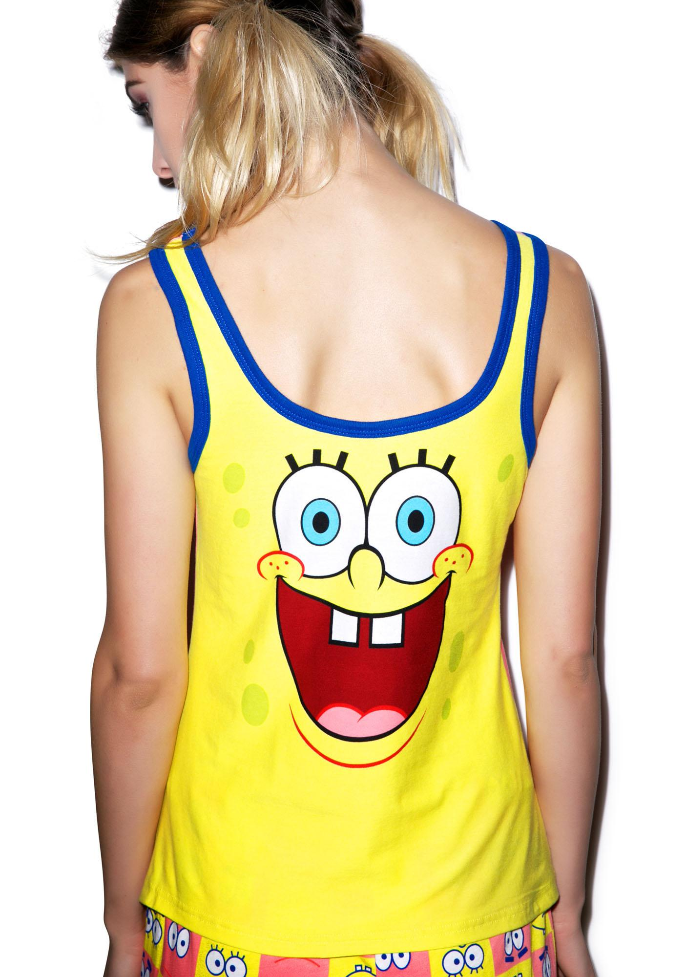 Undergirl Spongebob And Patrick Sleep Set