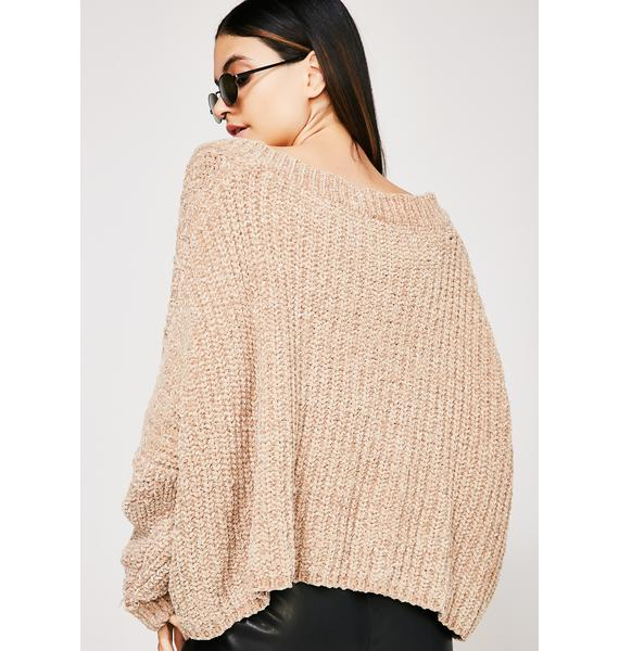 Act Natural Knit Sweater