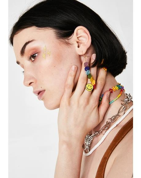 In Full Bloom Rainbow Earrings
