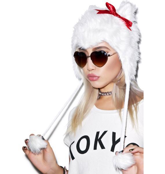 Kitty Hoodie Hat