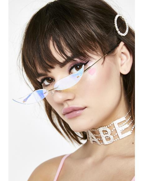 Liquid Cat Eye Glasses