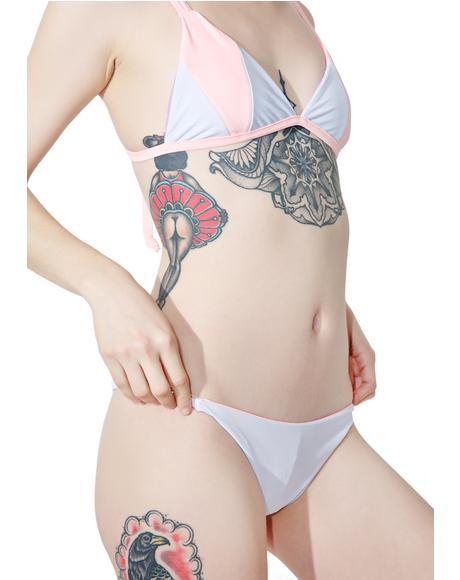 Fairy Floss Cheeky Bikini Bottoms