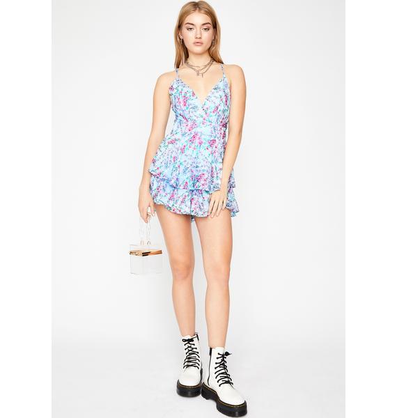 Summer Luvin' Floral Romper