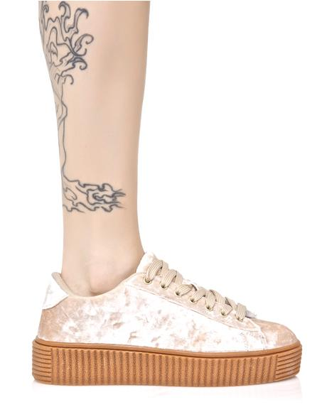 Lyn-Z Velvet Creeper Sneakers
