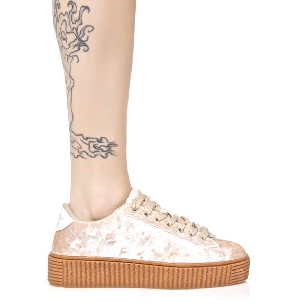 Lyn-Z Velvet Creeper Sneakers