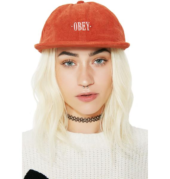 Obey Hazel 6 Panel Hat