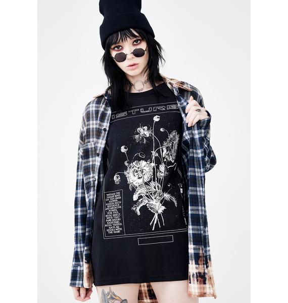 Disturbia Poison Graphic Tee