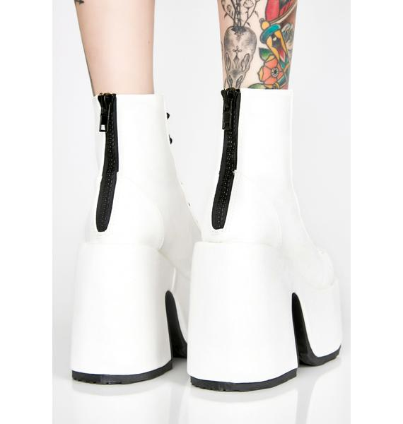 Demonia Pure Rave Royalty Platform Boots