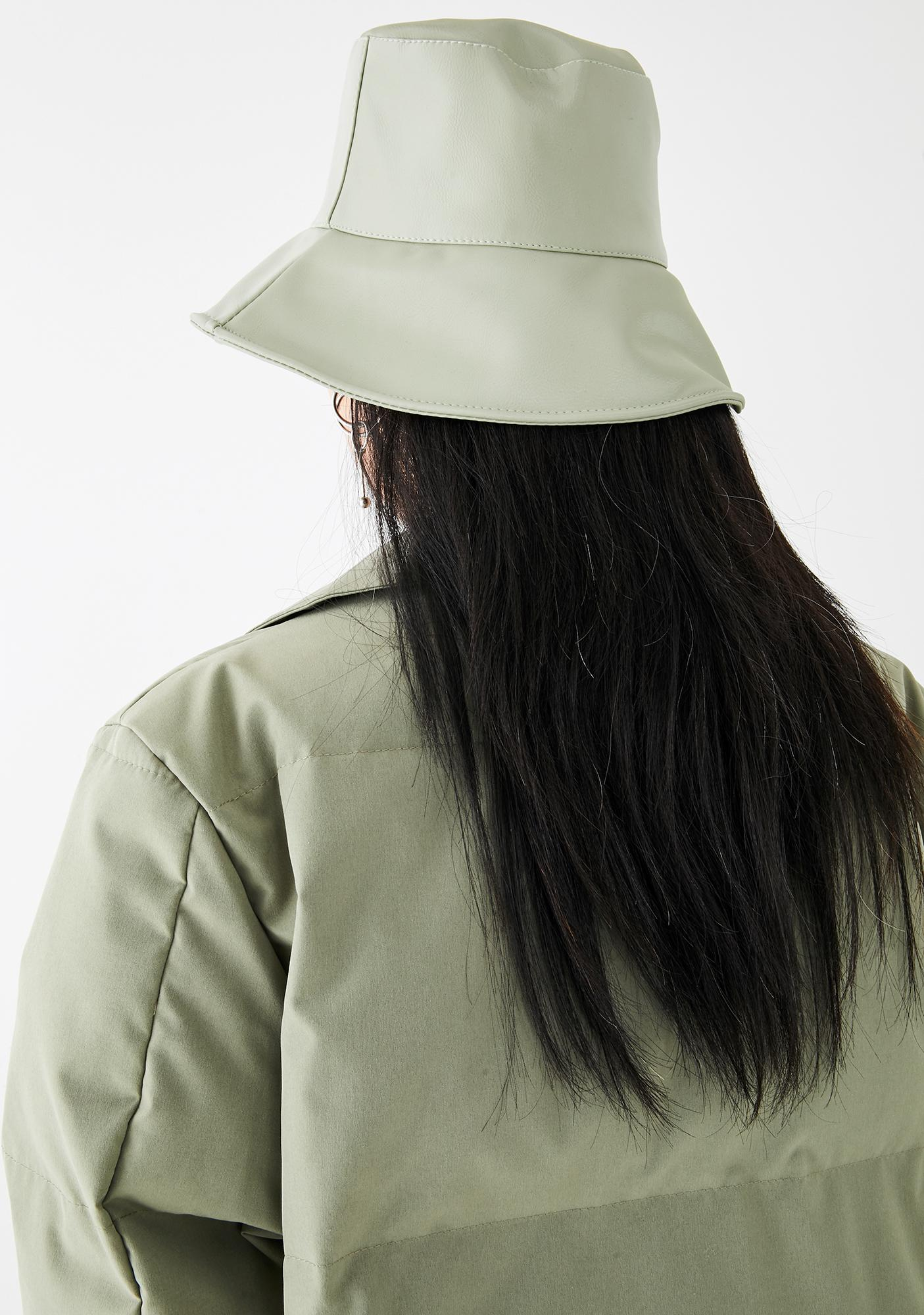 Olive Even The Score Bucket Hat