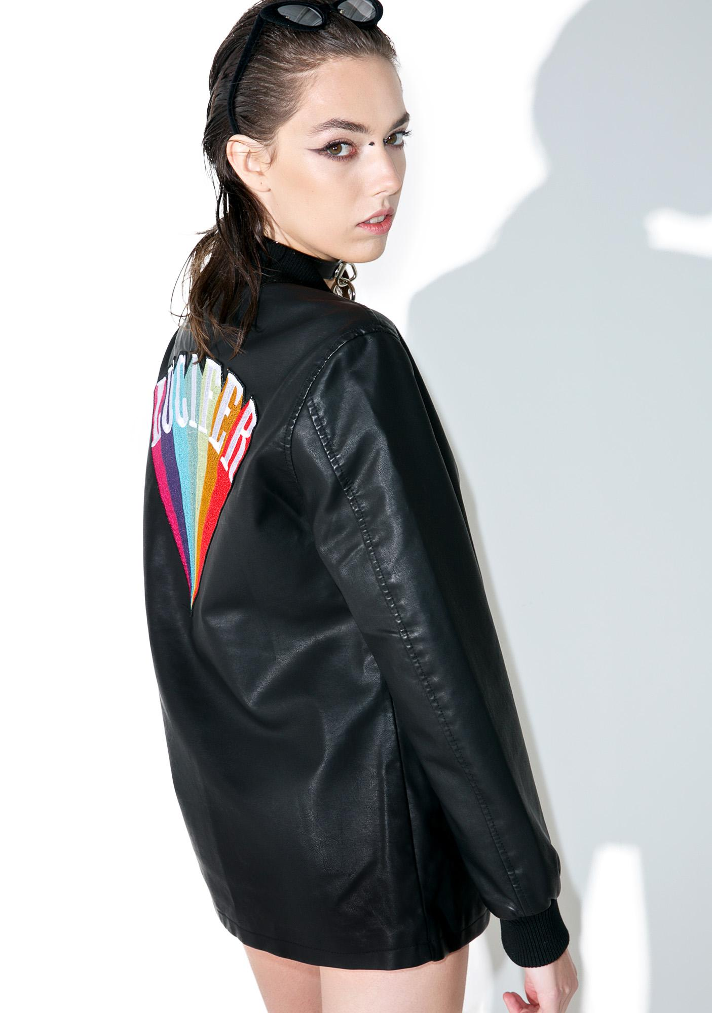 Disturbia Lucifer Bomber Jacket