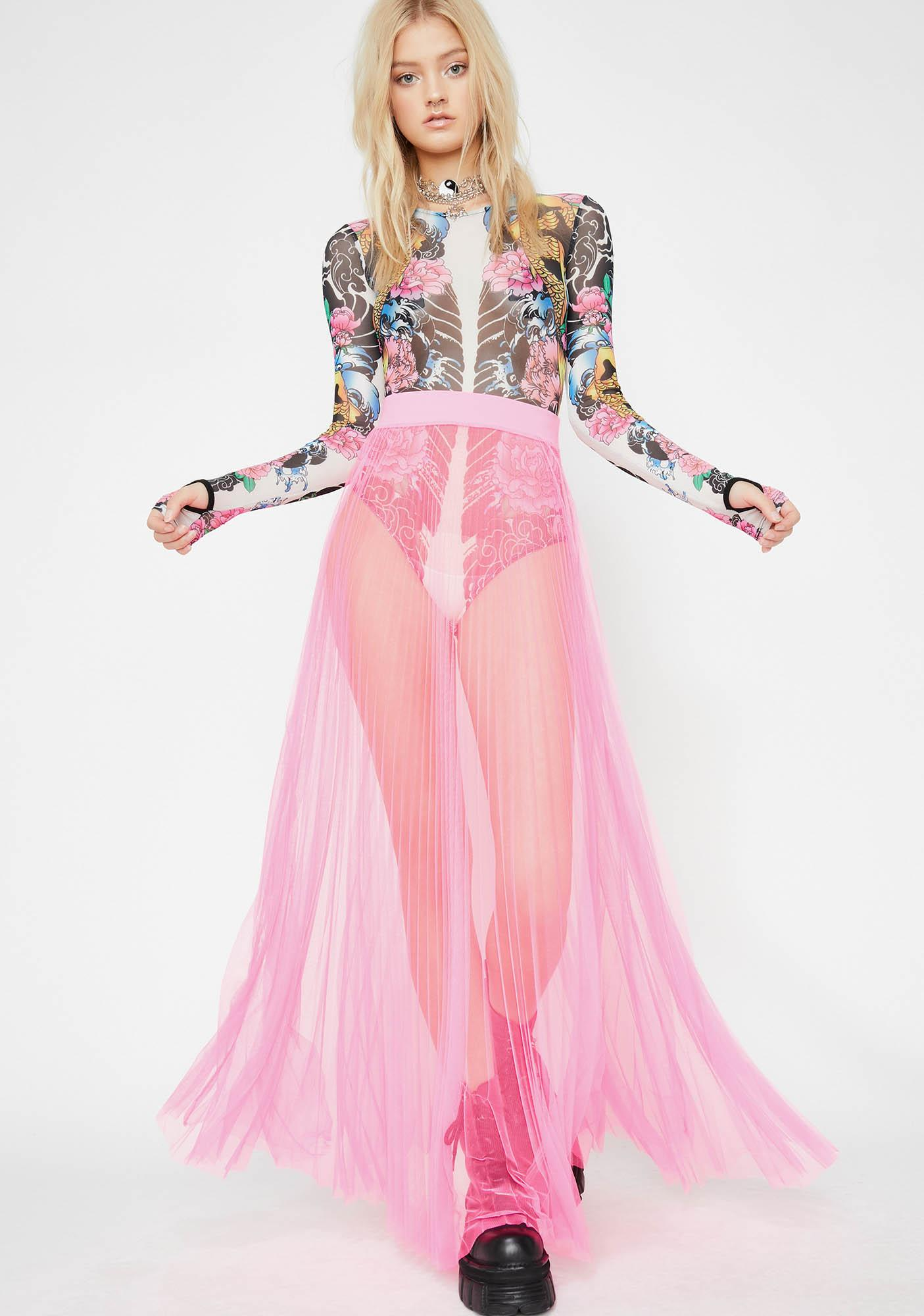 Pixie Fall From Grace Maxi Skirt